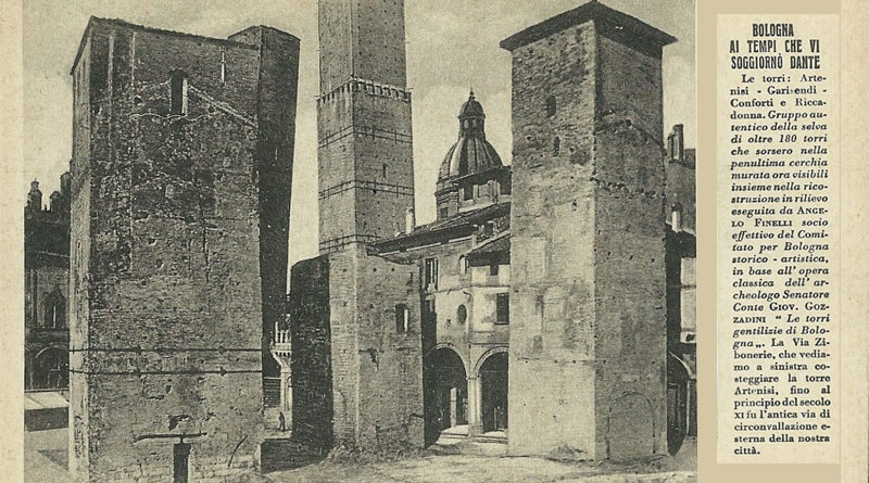 Torri Conforti, Artenisi, Riccadonna, Bologna