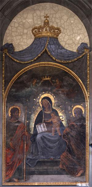 Madonna di Lippo da Dalmasio, Chiesa San Bartolomeo e Gaetano, Bologna @torridibologna
