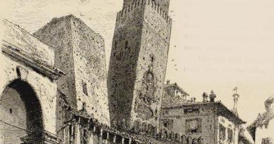 Crolli torri di Bologna