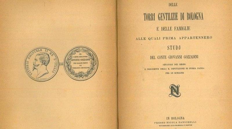 Copertina delle torri gentilizie di Bologna @torridibologna