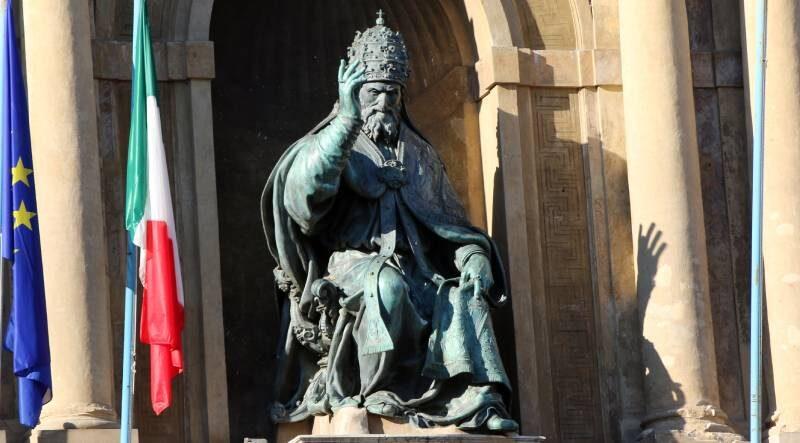 papa Gregorio XIII Palazzo Comunale Bologna